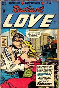 Cover Thumbnail for Radiant Love (Stanley Morse, 1953 series) #3