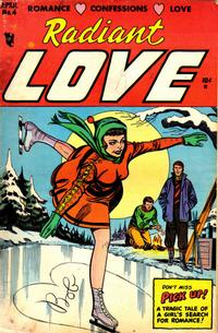 Cover Thumbnail for Radiant Love (Stanley Morse, 1953 series) #4