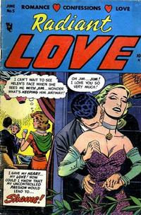 Cover Thumbnail for Radiant Love (Stanley Morse, 1953 series) #5