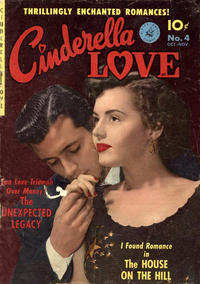 Cover for Cinderella Love (Ziff-Davis, 1950 series) #4