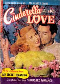 Cover Thumbnail for Cinderella Love (Ziff-Davis, 1950 series) #7