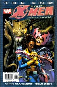 Cover Thumbnail for X-Men: The End - Heroes and Martyrs (Marvel, 2005 series) #4
