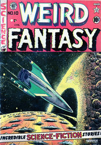 Cover Thumbnail for Weird Fantasy (Superior Publishers Limited, 1950 series) #10