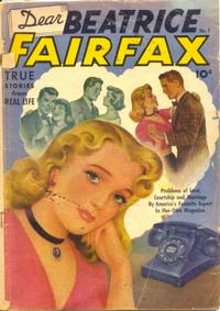 Cover Thumbnail for Dear Beatrice Fairfax (Pines, 1950 series) #7
