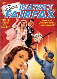 Cover Thumbnail for Dear Beatrice Fairfax (Pines, 1950 series) #8