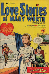 Cover Thumbnail for Love Stories of Mary Worth (Harvey, 1949 series) #2