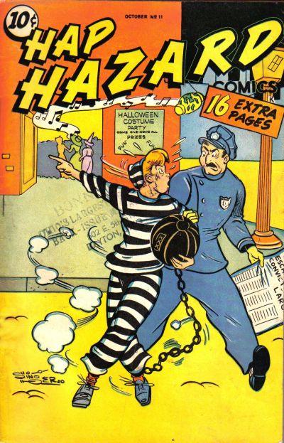 Cover for Hap Hazard Comics (Ace Magazines, 1944 series) #11