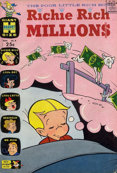 Cover for Richie Rich Millions (Harvey, 1961 series) #4