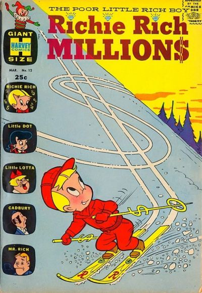 Cover for Richie Rich Millions (Harvey, 1961 series) #12