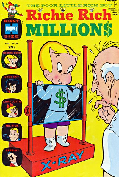 Cover for Richie Rich Millions (Harvey, 1961 series) #24
