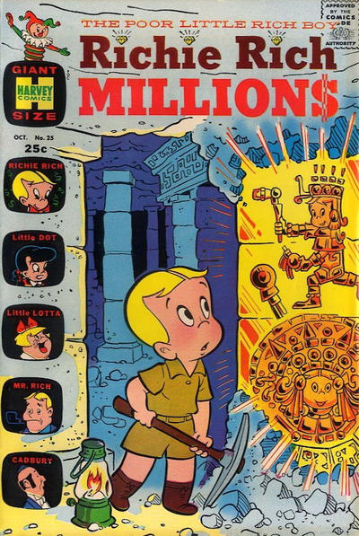 Cover for Richie Rich Millions (Harvey, 1961 series) #25