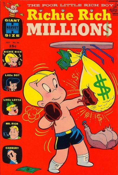 Cover for Richie Rich Millions (Harvey, 1961 series) #36