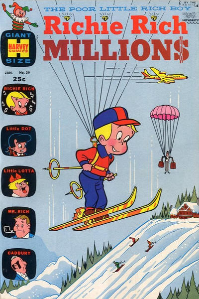 Cover for Richie Rich Millions (Harvey, 1961 series) #39