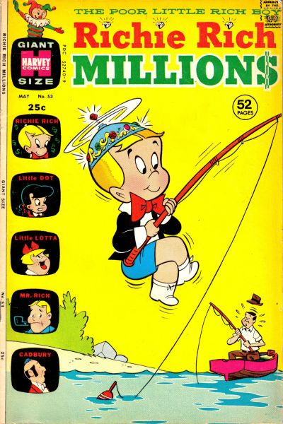 Cover for Richie Rich Millions (Harvey, 1961 series) #53