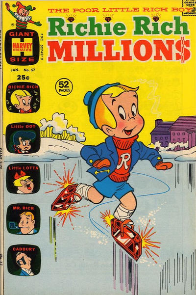 Cover for Richie Rich Millions (Harvey, 1961 series) #57