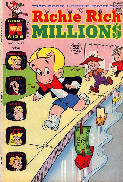 Cover for Richie Rich Millions (Harvey, 1961 series) #59