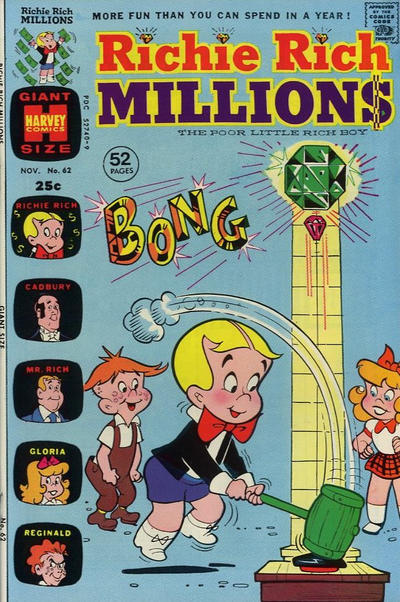 Cover for Richie Rich Millions (Harvey, 1961 series) #62