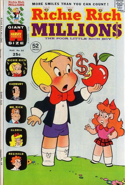Cover for Richie Rich Millions (Harvey, 1961 series) #64