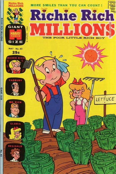 Cover for Richie Rich Millions (Harvey, 1961 series) #65