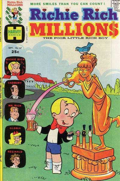 Cover for Richie Rich Millions (Harvey, 1961 series) #67