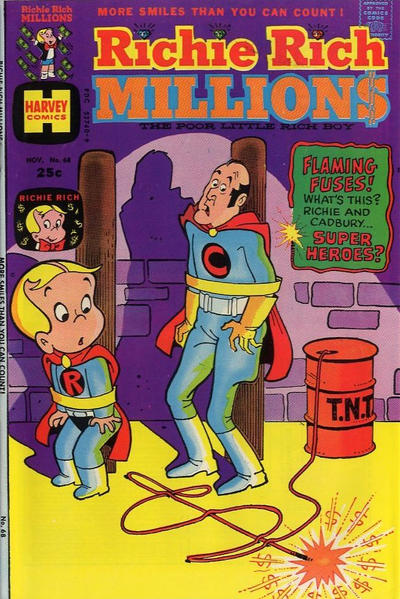 Cover for Richie Rich Millions (Harvey, 1961 series) #68