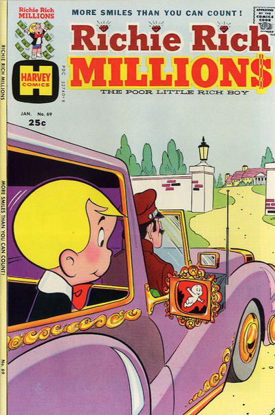 Cover for Richie Rich Millions (Harvey, 1961 series) #69