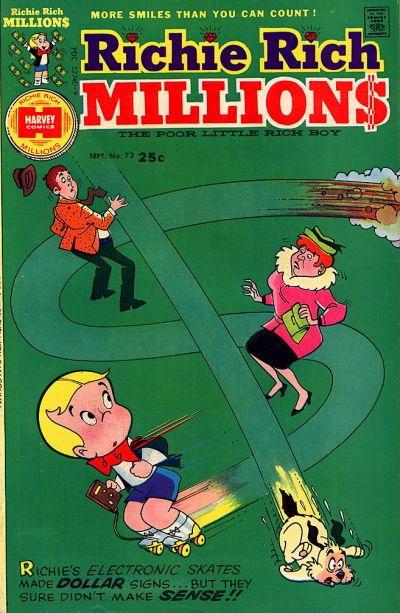 Cover for Richie Rich Millions (Harvey, 1961 series) #73
