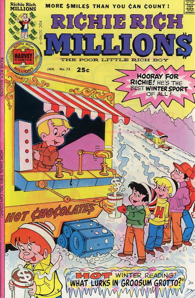 Cover for Richie Rich Millions (Harvey, 1961 series) #75