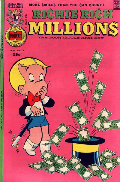 Cover for Richie Rich Millions (Harvey, 1961 series) #77