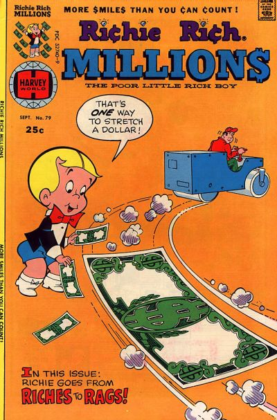Cover for Richie Rich Millions (Harvey, 1961 series) #79