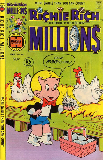 Cover for Richie Rich Millions (Harvey, 1961 series) #88