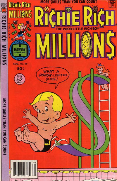 Cover for Richie Rich Millions (Harvey, 1961 series) #90