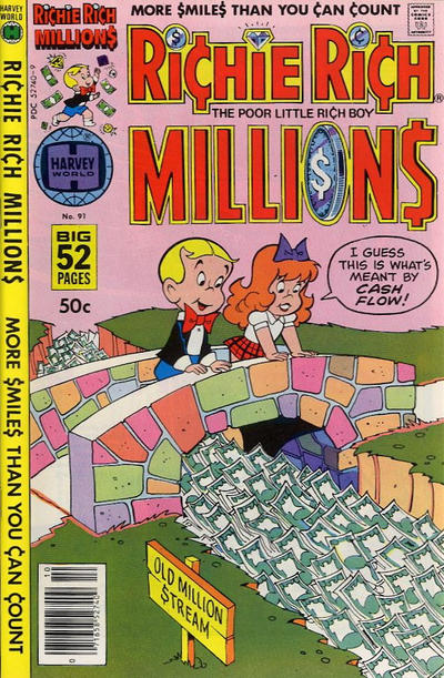 Cover for Richie Rich Millions (Harvey, 1961 series) #91
