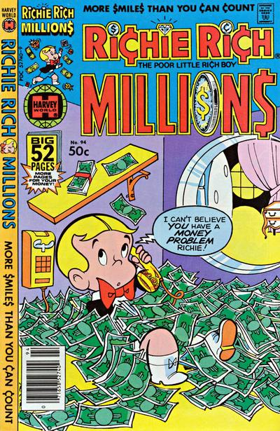 Cover for Richie Rich Millions (Harvey, 1961 series) #94