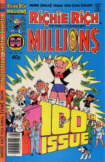 Cover for Richie Rich Millions (Harvey, 1961 series) #100