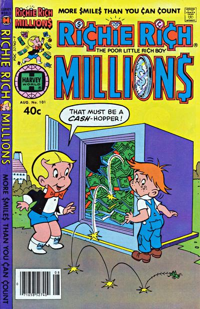 Cover for Richie Rich Millions (Harvey, 1961 series) #101
