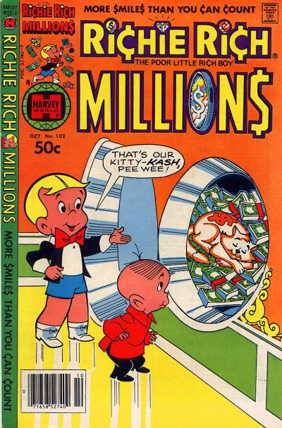 Cover for Richie Rich Millions (Harvey, 1961 series) #102