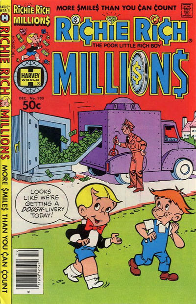 Cover for Richie Rich Millions (Harvey, 1961 series) #103