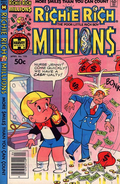 Cover for Richie Rich Millions (Harvey, 1961 series) #105