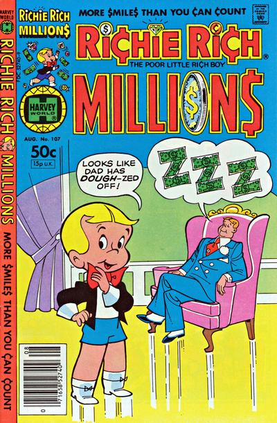 Cover for Richie Rich Millions (Harvey, 1961 series) #107