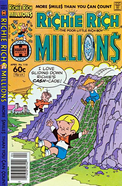 Cover for Richie Rich Millions (Harvey, 1961 series) #110