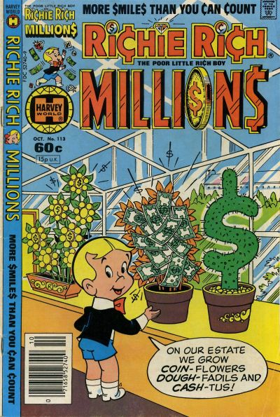 Cover for Richie Rich Millions (Harvey, 1961 series) #113