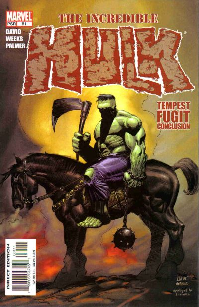 Cover for Incredible Hulk (Marvel, 2000 series) #81