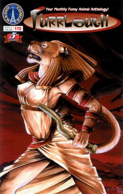 Cover for Furrlough (Radio Comix, 1997 series) #112