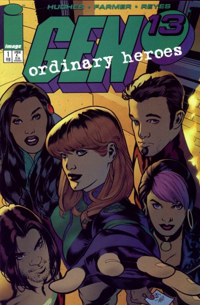 Cover for Gen 13: Ordinary Heroes (Image, 1996 series) #1