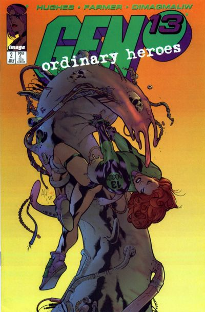 Cover for Gen 13: Ordinary Heroes (Image, 1996 series) #2