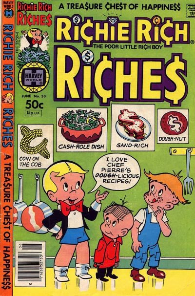 Cover for Richie Rich Riches (Harvey, 1972 series) #53