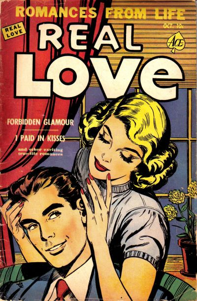 Cover for Real Love (Ace Magazines, 1949 series) #40