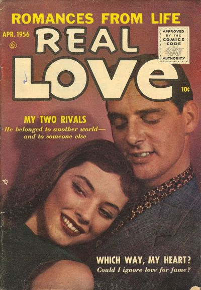 Cover for Real Love (Ace Magazines, 1949 series) #73