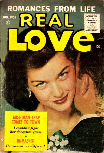 Cover for Real Love (Ace Magazines, 1949 series) #75